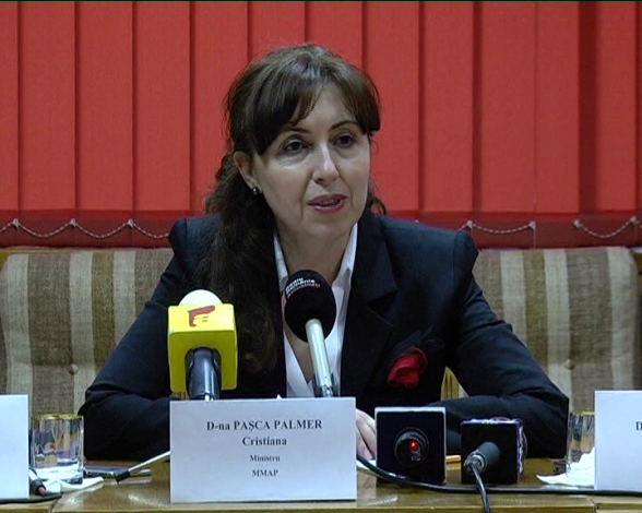 cristiana pasca palmer of romania appointed as executive secretary of the secretariat of the
