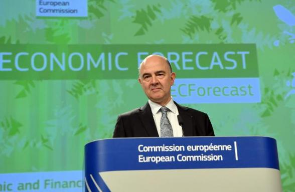 EU raises euro zone growth forecasts