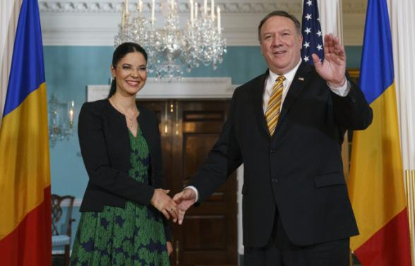 Deputy Prime Minister Ana Burchall met in Washington with Secretary of State  of the US Mike Pompeo 8b1181915b